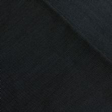 Fine Graphite Black Pepper and Salt Italian Wool Suiting Fabric